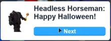 AM Halloween 2017 dialogue