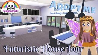Adopt Me Aesthetic House Tour - Futuristic House