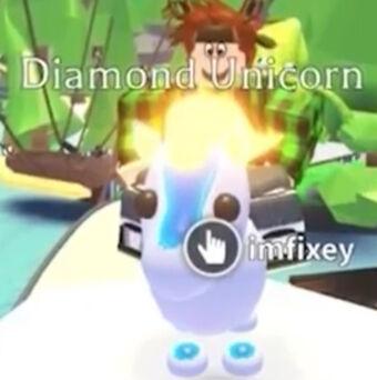 Diamond Unicorn Adopt Me Wiki Fandom