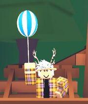 Fancy balloon am