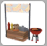 A Hotdog Stand in a player's inventory