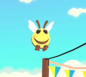 Bee Adopt Me Wiki Fandom - how to get a free queen bee in adopt me roblox adopt me new bee update