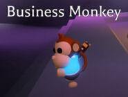 Mega Neon Business Monkey