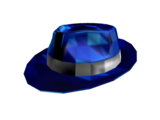 Midnight Blue Sparkle Time