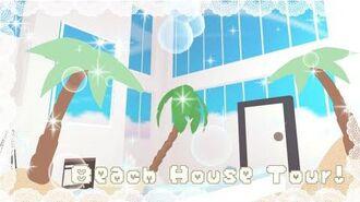 Beach house tour- Adopt me! Eclipse Sarah