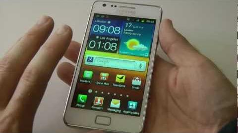 Samsung Galaxy S2 II (white) Full Review