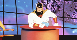 Space-ghost card
