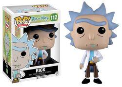9015 RickMorty RickFlask PopVinyl