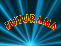 Futurama Title Screen