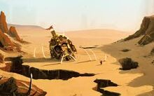 Chikras desert
