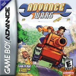 Advance wars GBA cover