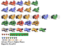 Advance wars planes