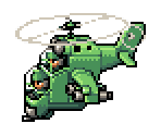 Green Earth's Battle Copter
