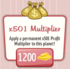 X501Multiplier
