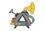 Rainbow Machine Badge