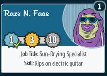 Raze-n-face
