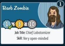 Barb-zombie