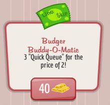 Budger Buddy-O-Matic