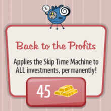 Back to the Profits Gold Upgrade