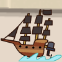 Pirate Ship Outboard