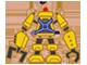 XO Skeleton Badge