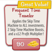 Event Deal Frequent Time Traveler