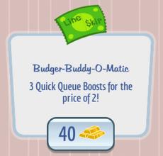 BudgerBuddyOMatic