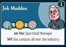Job-madden