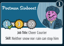Postman-sinboost