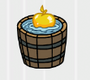 Golden Apple Bobbing Badge