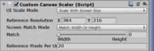 Custom scaler