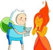 Flame princess happy pic. 2