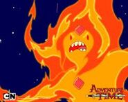 Flame princess angry