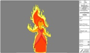 Flame princess designs and costumes 13