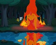 Flame Princess reflection