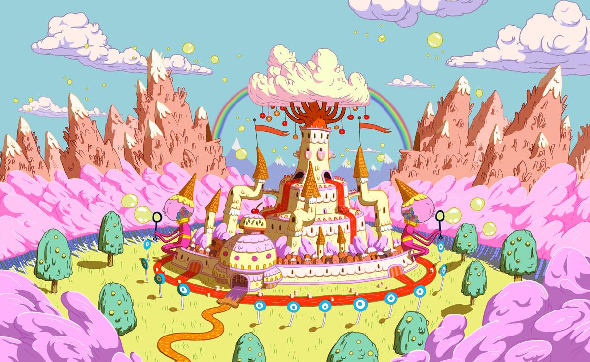 Bubblegum castle