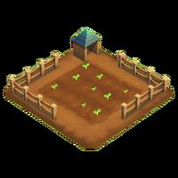 Farm patch planted