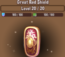 Great Red Shield