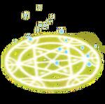Yellow summoner circle