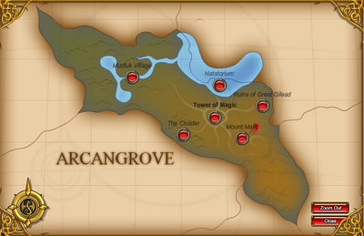 Arcangrove Map