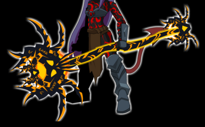Staff of the Burning Abyss