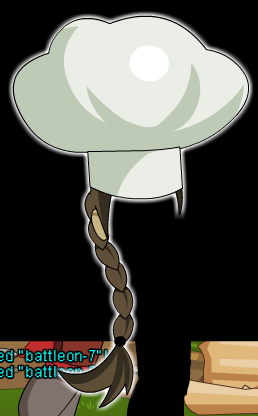 Braided hair Chef Hat