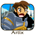 Artix yelling
