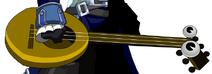 Yokai Lute (Axe)