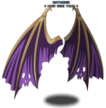 Purple Draconian Wings