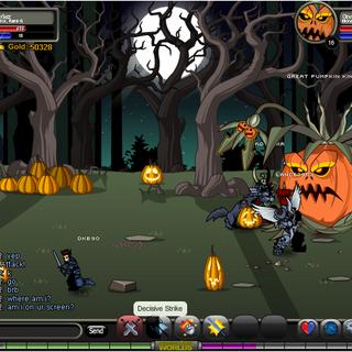 Great Pumpkin King area