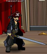 Barbaric blade