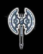 Platinum axe of destiny