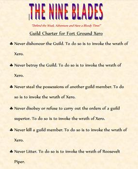 The Nine charter