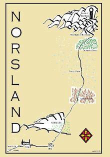Norsland map